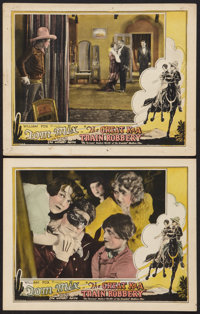 "The Great K & A Train Robbery (Fox, 1926). Lobby Cards (2) (11"" X 14""). Western. ... (Total: 2 Items)"