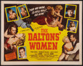 "Movie Posters:Western, The Daltons' Women (Western Adventures Pictures, 1950). Half Sheet (22"" X 28""). Western.. ..."