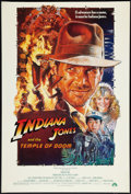 "Movie Posters:Adventure, Indiana Jones and the Temple of Doom (Paramount, 1984). One Sheet(27"" X 40""). Style B. Adventure.. ..."