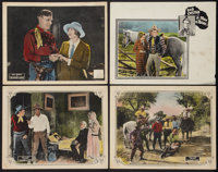 "Branded a Thief Lot (William Steiner, 1924). Lobby Cards (4) (11"" X 14""). Western. ... (Total: 4 Items)"