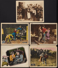 "The Human Tornado Lot (FBO, 1925). Lobby Cards (5) (11"" X 14""). Western. ... (Total: 5 Items)"