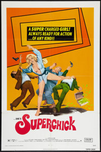 "Superchick Lot (Crown International, 1973). One Sheets (2) (27"" X 41""). Bad Girl. ... (Total: 2 Items)"