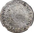 Colonials, 1776 $1 Continental Dollar, CURRENCY, Pewter--Bent--NGC Details.XF. Newman 2-C, Hodder 2-A.3, W-8455, R.4....