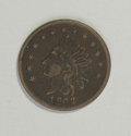 Civil War Merchants: , 1862 S. Whited & Co. Sutler Token XF40 Lightly CleanedUncertified. Schenkman-IL-Q10C, R.6. Fuld-NL-39a. A deep brownexampl...