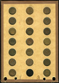 Civil War Patriotics: , Civil War Patriotic Group Lot. Consists of 20 uncertified tokens ofvarious types and conditions. This is a totally unattrib... (Total:20 tokens)