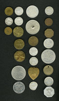 20th Century Tokens and Medals: , 20th Century Merchant Token Group Lot. Includes 24 merchant tokensfrom New Jersey. A super lot for New Jersey collectors, i...(Total: 24 tokens)