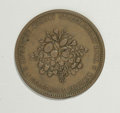 Australian Tokens: , Australian 19th Century Merchant Token Group Lot. Includes thesepenny tokens: J.M. Leigh Tobacconist, Sydney, NSW, KM Tn-14...(Total: 2 tokens)