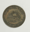 Australian Tokens: , Australian 19th Century Merchant Token Group Lot. Consists of: ahalfpenny issued by Smith, Peate & Co. Grocers, Sydney, NSW...(Total: 2 tokens)