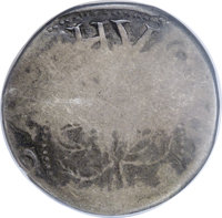 1652 SHILNG Oak Tree Shilling--Clipped--NCS. VG Details. Noe-5, Crosby 2-D, R.2. 51.4 grains. Former examples of Noe-5 i...