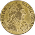 Colonials: , Undated MEDAL Washington Success Medal, Large Size, Reeded Edge AU58 PCGS. Baker-265B, Brass. No die break from the nose. W...