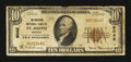 National Bank Notes:Missouri, Saint Joseph, MO - $10 1929 Ty. 1 The American NB Ch. # 9042. ...