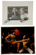 Movie/TV Memorabilia:Autographs and Signed Items, Gene Kelly, Cyd Charisse, and Others Signed Photos.... (Total: 2 )