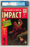Golden Age (1938-1955):Horror, Impact #2 Gaines File pedigree 7/12 (EC, 1955) CGC VF/NM 9.0Off-white pages....