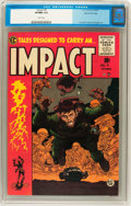 Golden Age (1938-1955):Horror, Impact #4 Gaines File pedigree 9/12 (EC, 1955) CGC VF/NM 9.0 Whitepages....