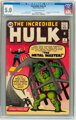 The Incredible Hulk #6 (Marvel, 1963) CGC VG/FN 5.0 Off-white to white pages