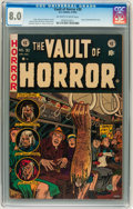 Golden Age (1938-1955):Horror, Vault of Horror #30 Williamsport pedigree (EC, 1953) CGC VF 8.0Off-white to white pages....