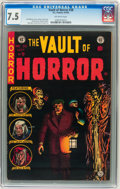 Golden Age (1938-1955):Horror, Vault of Horror #38 Williamsport pedigree (EC, 1954) CGC VF- 7.5Off-white pages. ...