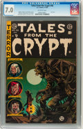 Golden Age (1938-1955):Horror, Tales From the Crypt #46 Williamsport pedigree (EC, 1955) CGC FN/VF7.0 Off-white pages. ...