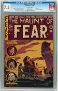 Golden Age (1938-1955):Horror, Haunt of Fear #28 Williamsport pedigree (EC, 1954) CGC VF- 7.5Off-white pages....