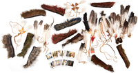 Dances With Wolves Prop Mohawks and Feather Headdresses