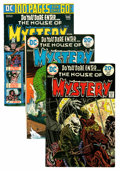 Bronze Age (1970-1979):Horror, House of Mystery Group (DC, 1974-83) Condition: Average VF+....(Total: 21 Comic Books)