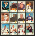 Football Cards:Sets, 1961 Fleer Football Partial Set (148/220) With Unitas, Starr and Hornung! ...