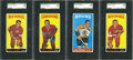 Hockey Cards:Lots, 1964-65 Topps Hockey SGC 88 NM/MT 8 Collection (4). ...