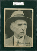 Baseball Cards:Singles (1930-1939), 1936 R311 Leather Finish Connie Mack SGC Authentic. ...