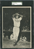 Baseball Cards:Singles (1940-1949), 1949 Cleveland Indians Team Picture Pack - Action Satchell PaigeSGC 60 EX 5. ...