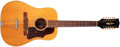 Musical Instruments:Acoustic Guitars, 1965 Gibson B-45-12 Natural 12-String Acoustic Guitar, #285675. ...