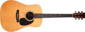 Musical Instruments:Acoustic Guitars, 1976 Martin D-28 Natural Acoustic Guitar, #385407....