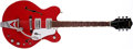 Musical Instruments:Electric Guitars, 1967 Gretsch Monkees Red Semi-Hollow Body Electric Guitar, #67446....