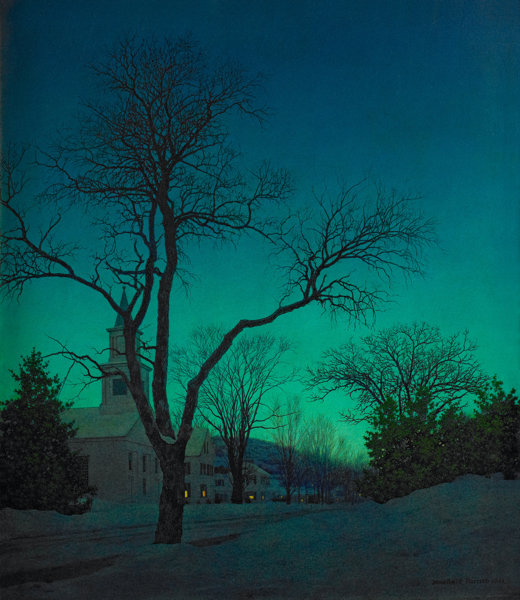 MAXFIELD PARRISH (American, 1870-1966). At Close of Day, 1941. Oil | Lot #78226 | Heritage Auctions