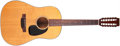 Musical Instruments:Acoustic Guitars, 1973 Martin D-12-20 Natural 12-String Acoustic Guitar, #328783. ...