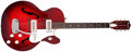 Musical Instruments:Electric Guitars, 1968 Harmony Rocket Red Burst Semi-Hollow Body Electric Guitar,#1623H54. ...