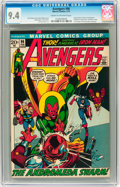 Bronze Age (1970-1979):Superhero, The Avengers #96 (Marvel, 1972) CGC NM 9.4 Cream to off-whitepages....