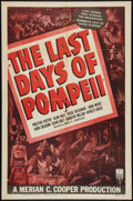 "Movie Posters:Adventure, The Last Days of Pompeii (RKO, R-1948). One Sheet (27"" X 41"").Adventure.. ..."