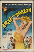 "Movie Posters:Adventure, Angel on the Amazon (Republic, 1948). One Sheet (27"" X 41"").Adventure.. ..."