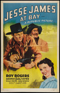 "Movie Posters:Western, Jesse James at Bay (Republic, R-1955). One Sheet (27"" X 41"").Western.. ..."