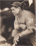 Autographs:Photos, 1931 Babe Ruth Signed Photograph by George Burke. ...