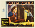 "Movie Posters:Drama, Susan Lenox (Her Fall and Rise) (MGM, 1931). Lobby Cards (2) (11"" X14"").. ... (Total: 2 Items)"