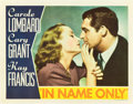 "Movie Posters:Romance, In Name Only (RKO, 1939). Lobby Card (11"" X 14"").. ..."