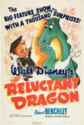"Movie Posters:Animation, The Reluctant Dragon (RKO, 1941). One Sheet (27"" X 41"").. ..."