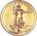 High Relief Double Eagles, 1907 $20 High Relief, Wire Rim Genuine PCGS....