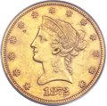 Liberty Eagles, 1872-CC $10 XF40 PCGS....