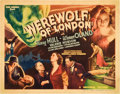 "Movie Posters:Horror, Werewolf of London (Universal, 1935). Title Lobby Card (11"" X14"").. ..."