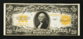 Large Size:Gold Certificates, Fr. 1187 $20 1922 Gold Certificate Extremely Fine.. ...