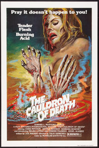 """The Cauldron of Death Lot (Film Ventures International, 1979). One Sheets (6) (27"""" X 41""""). Horror. ... (Total:..."""