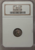 Proof Seated Half Dimes, 1872 H10C PR65 NGC....