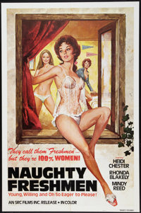 """Naughty Freshmen Lot (SRC Films, 1970). One Sheets (4) (27"""" X 41""""). Adult. ... (Total: 4 Items)"""